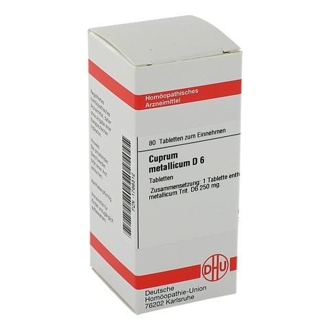 CUPRUM METALLICUM D 6 Tabletten 80 St�ck N1