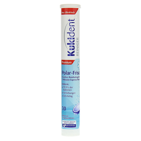 KUKIDENT Aktiv Plus Premium Polar-Frisch Tabletten 30 Stück