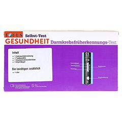 FOCUS Darmkrebsfrüherkennungs-Test 1 Stück - Rückseite