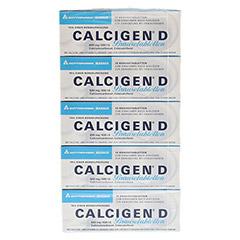 CALCIGEN D 600 mg/400 I.E. Brausetabletten 50 Stück N2 - Vorderseite