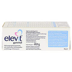 ELEVIT gynvital Weichkapseln 60 Stück - Oberseite