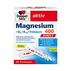 DOPPELHERZ Magnesium+B Vitamine DIRECT Pellets 20 Stück