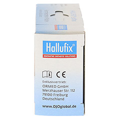 HALLUFIX softies Hammerzehenpolster Gr.M 36-41 2 St�ck - Rechte Seite