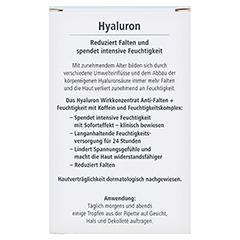 HYALURON Wirkkonzentrat Anti-Falten+Feuchtigkeit 13 Milliliter - Rückseite
