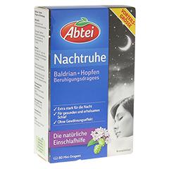 ABTEI  Nachtruhe (Baldrian + Hopfen Beruhigungsdragees) 80 Stück
