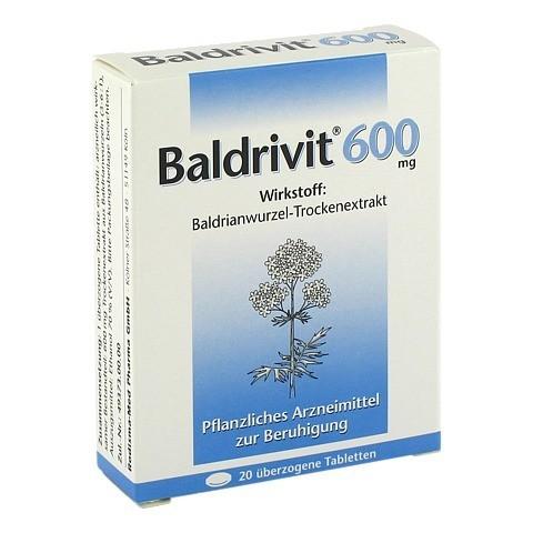 Baldrivit 600mg 20 Stück