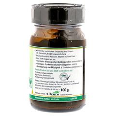 CHLORELLA BIO Tabletten 250 St�ck - Rechte Seite