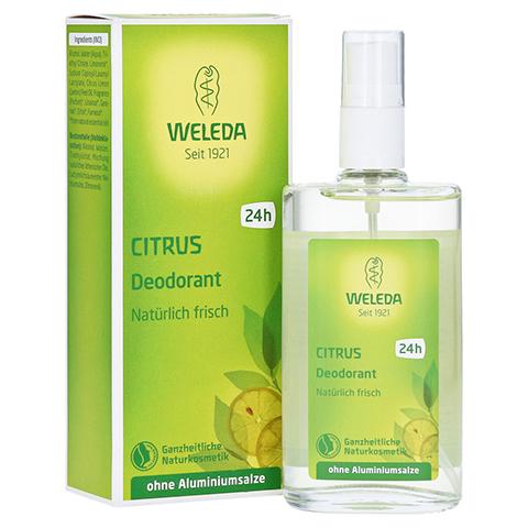 WELEDA Citrus Deodorant 100 Milliliter