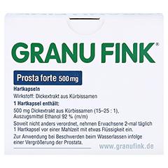 GRANU FINK Prosta forte 500mg 140 St�ck - R�ckseite
