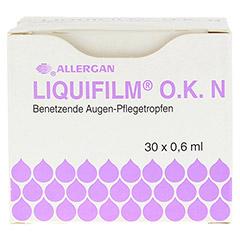 LIQUIFILM O.K. N Augentropfen 30x0.6 Milliliter - R�ckseite