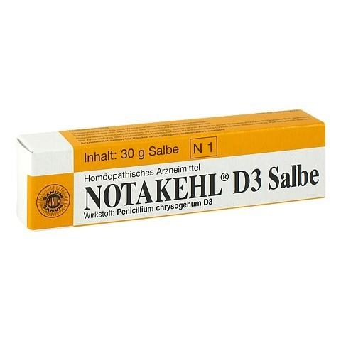 NOTAKEHL D 3 Salbe 30 Gramm N1