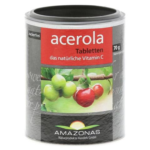 ACEROLA 100% natürliches Vitamin C Lutschtabletten 120 Stück