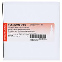 FORMISOTON D 6 Ampullen 10x10x1 Milliliter - Vorderseite