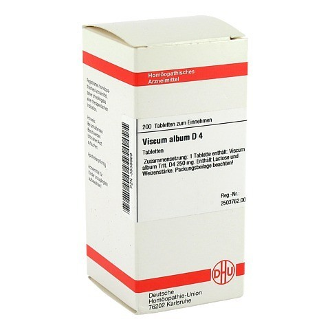 VISCUM ALBUM D 4 Tabletten 200 Stück N2