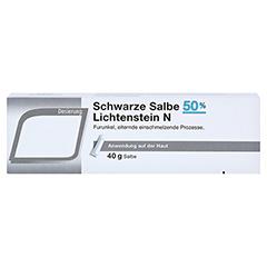 SCHWARZE SALBE 50% Lichtenstein N 40 Gramm - Vorderseite