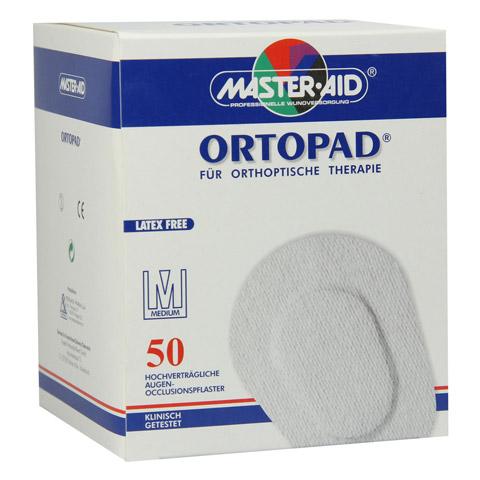 ORTOPAD medium Augenokklusionspflaster 50 Stück