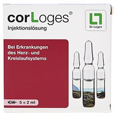 COR LOGES Injektionsl�sung Ampullen 5x2 Milliliter - Vorderseite