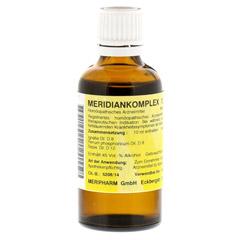 MERIDIANKOMPLEX 12 Tropfen zum Einnehmen 50 Milliliter N1
