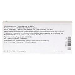 MAMMA DEXTRA GL D 10 Ampullen 10x1 Milliliter N1 - R�ckseite