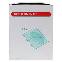 NOBALUMENAL Augenkompr.54x70 mm steril 25 Stück - Rechte Seite