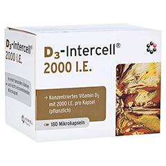 D3-INTERCELL 2.000 I.E. Kapseln 180 Stück