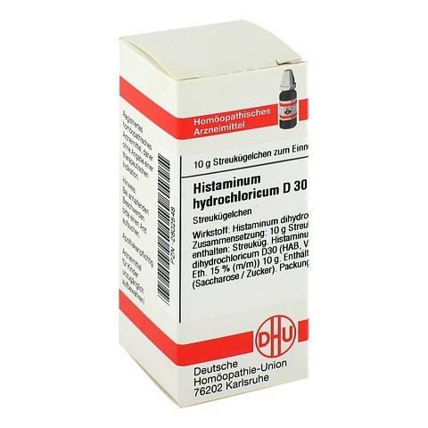 HISTAMINUM hydrochloricum D 30 Globuli 10 Gramm N1