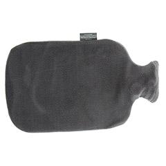 FASHY Wärmflasche mit Bezug anthrazit 1 Stück - Rückseite