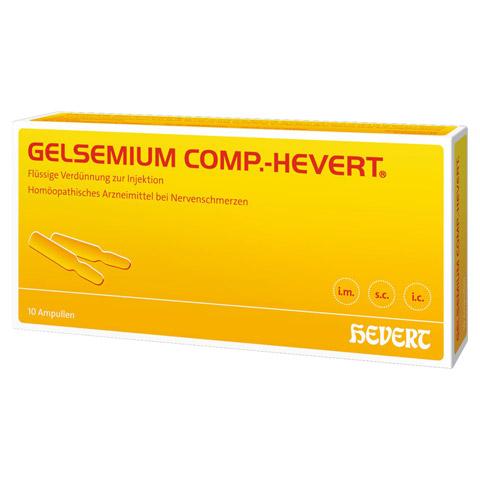 GELSEMIUM COMP.Hevert Ampullen 10x2 Milliliter N1