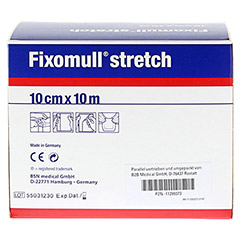 FIXOMULL stretch 10 cmx10 m 1 Stück - Rückseite