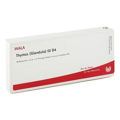 THYMUS GLANDULA GL D 4 Ampullen 10x1 Milliliter N1