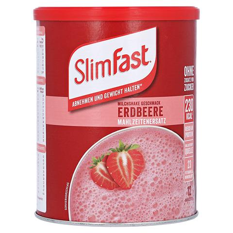 SLIM FAST Pulver Erdbeere 438 Gramm