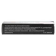 ZUGSALBE effect 50% Salbe 15 Gramm - Oberseite
