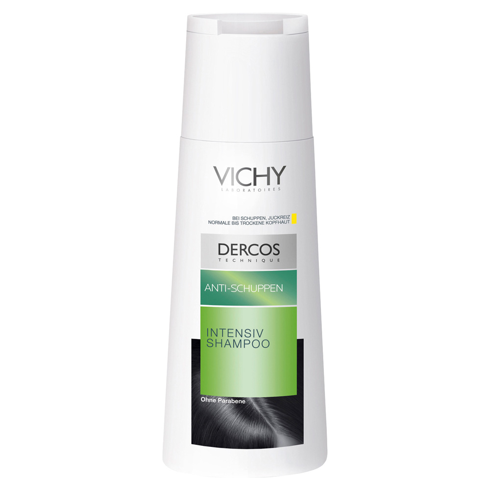 vichy dercos shampoo gegen trockene schuppen 200. Black Bedroom Furniture Sets. Home Design Ideas