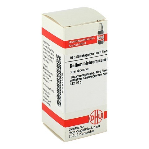 KALIUM BICHROMICUM C 12 Globuli 10 Gramm N1