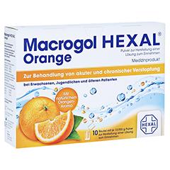 MACROGOL HEXAL Orange Plv.z.Her.e.Lsg.z.Einn.Btl. 10 Stück