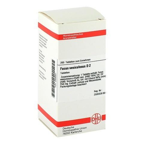 FUCUS VESICULOSUS D 2 Tabletten 200 St�ck N2