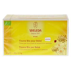 WELEDA Bio Bäuchlein-Tee 20x1.5 Gramm - Rückseite