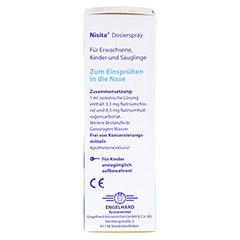 NISITA Dosierspray 20 Milliliter - Rechte Seite