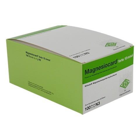 MAGNESIOCARD forte 10 mmol Plv.z.Her.e.Lsg.z.Einn. 100 Stück N3
