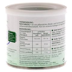 NESTLE Nestargel Pulver 125 Gramm - R�ckseite