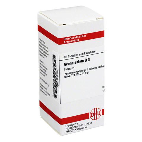 AVENA SATIVA D 3 Tabletten 80 Stück N1