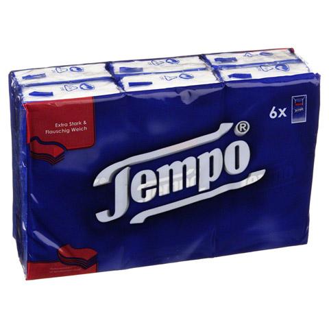 TEMPO Taschentücher 6x10 Stück