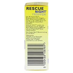 BACH ORIGINAL Rescue night Tropfen alkoholfrei 10 Milliliter - Linke Seite