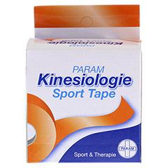 KINESIOLOGIE Sport Tape 5 cmx5 m orange 1 Stück - Vorderseite