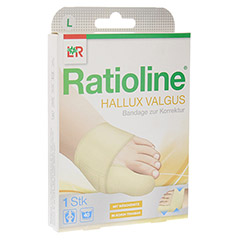 RATIOLINE Hallux valgus Bandage zur Korrektur Gr.L 1 Stück