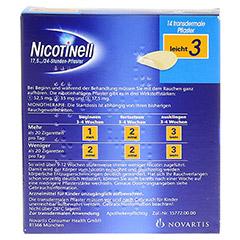 Nicotinell 17,5mg/24Stunden 14 Stück - Rückseite