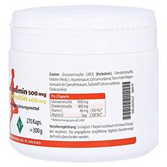 GLUCOSAMIN 500 mg+Chondroitin 400 mg Kapseln 270 St�ck - Linke Seite