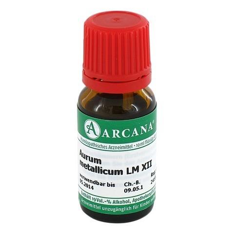 AURUM METALLICUM Arcana LM 12 Dilution 10 Milliliter N1