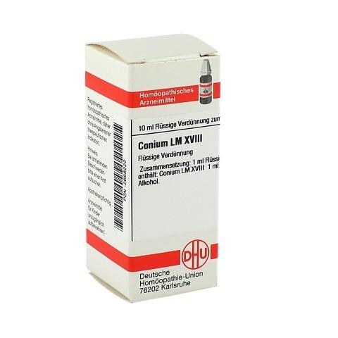 LM CONIUM XVIII Dilution 10 Milliliter N1