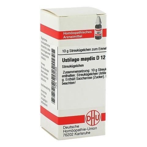USTILAGO MAYDIS D 12 Globuli 10 Gramm N1